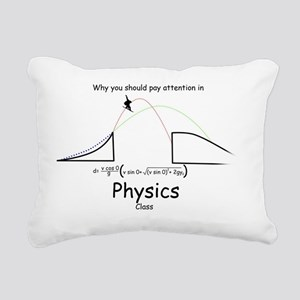Why you Should Pay Atten Rectangular Canvas Pillow