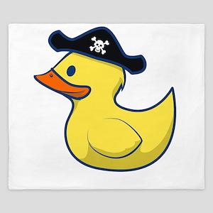 Pirate Duck King Duvet