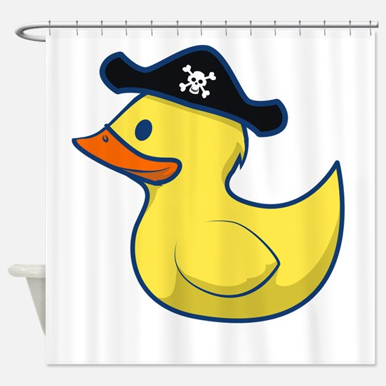Pirate Duck Shower Curtain