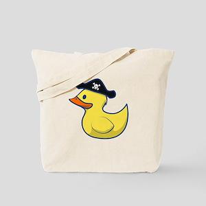Pirate Duck Tote Bag