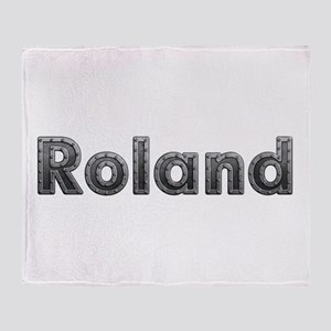 Roland Metal Throw Blanket