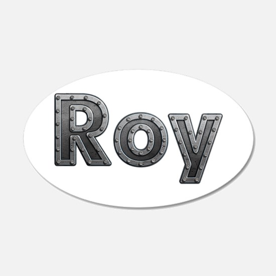 Roy Metal Wall Decal