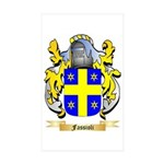 Fassioli Sticker (Rectangle 10 pk)