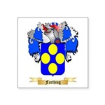 Farthing Square Sticker 3
