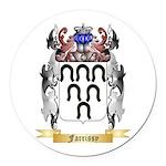 Farrissy Round Car Magnet