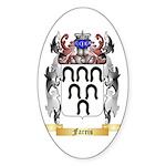 Farris Sticker (Oval 50 pk)