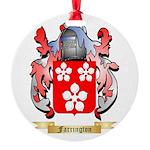 Farrington Round Ornament