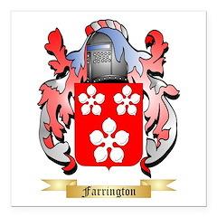 Farrington Square Car Magnet 3