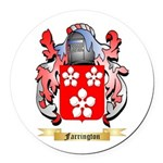 Farrington Round Car Magnet