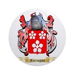 Farrington Ornament (Round)