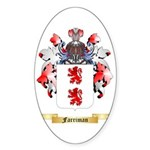 Farriman Sticker (Oval 50 pk)