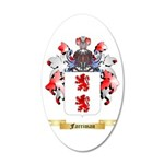 Farriman 20x12 Oval Wall Decal