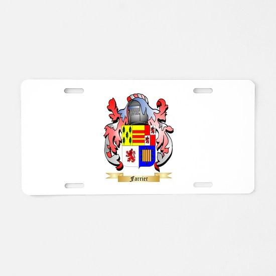 Farrier Aluminum License Plate