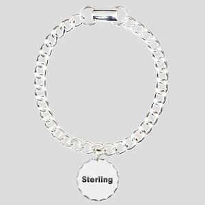 Sterling Metal Charm Bracelet