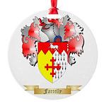 Farrelly Round Ornament