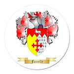 Farrelly Round Car Magnet