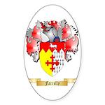 Farrelly Sticker (Oval 50 pk)