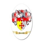 Farrelly 35x21 Oval Wall Decal