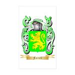 Farrell Sticker (Rectangle 50 pk)