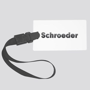 Schroeder Metal Large Luggage Tag
