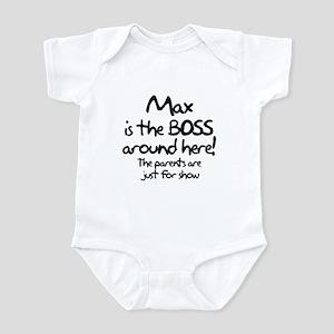 Max is the Boss Infant Bodysuit