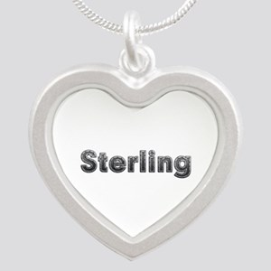 Sterling Metal Silver Heart Necklace