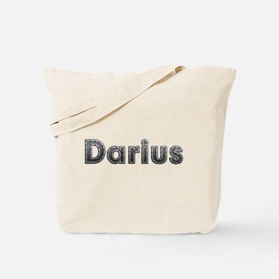 Darius Metal Tote Bag