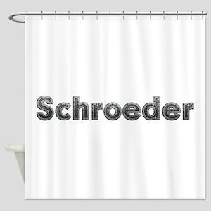 Schroeder Metal Shower Curtain