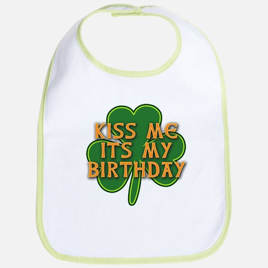 Irish Birthday with Shamrock Bib