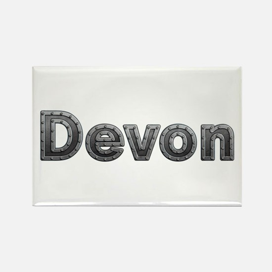 Devon Metal Rectangle Magnet