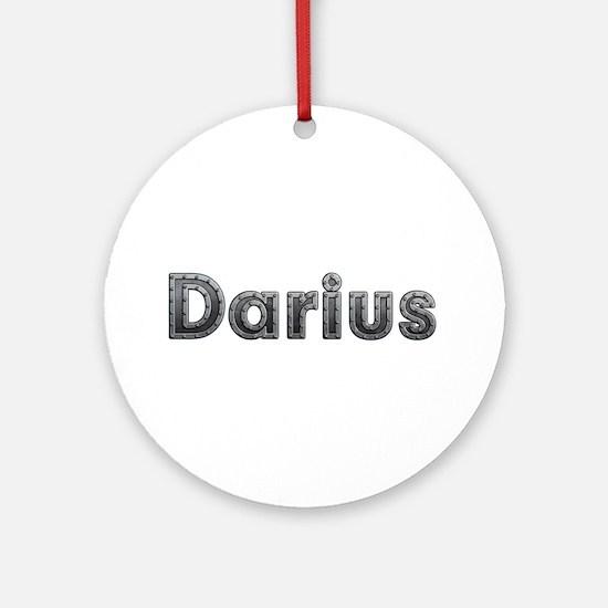 Darius Metal Round Ornament
