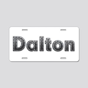 Dalton Metal Aluminum License Plate