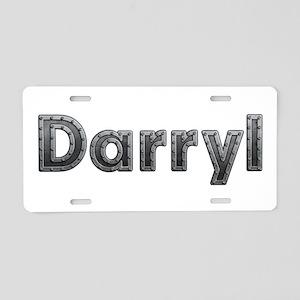 Darryl Metal Aluminum License Plate