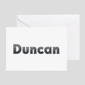 Duncan Metal Greeting Card