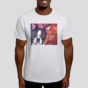 Boston Terrier #1 Light T-Shirt