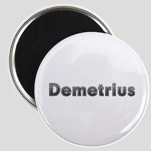 Demetrius Metal Round Magnet