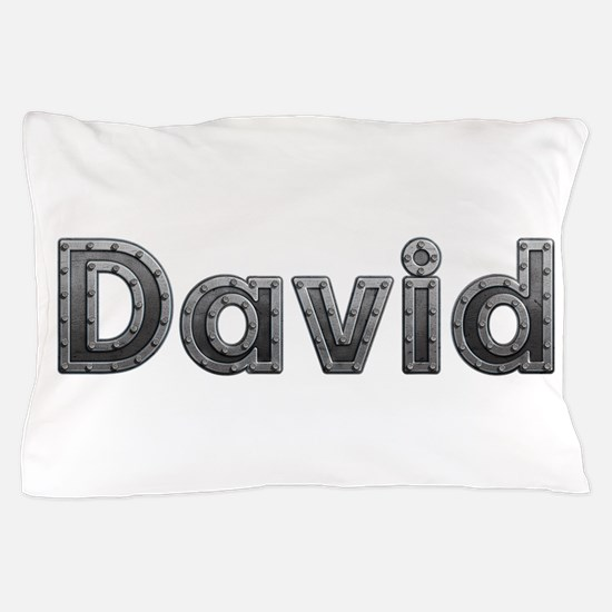 David Metal Pillow Case