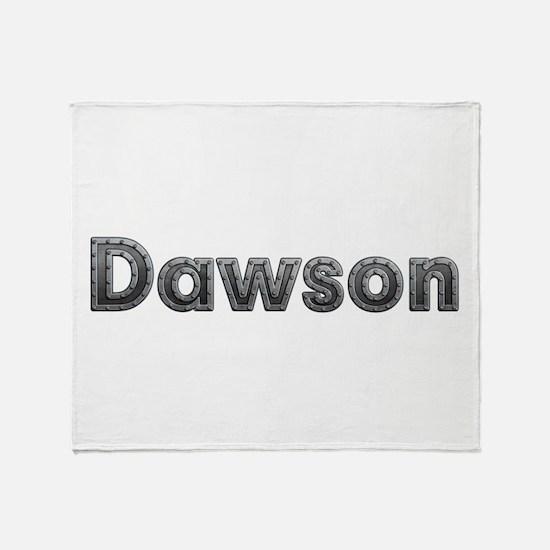 Dawson Metal Throw Blanket