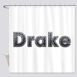 Drake Metal Shower Curtain
