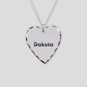 Dakota Metal Heart Necklace