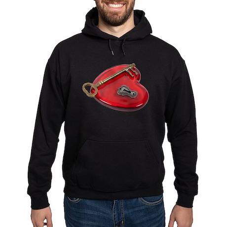 KeyHoleKeyRedHeart071611 Sweatshirt