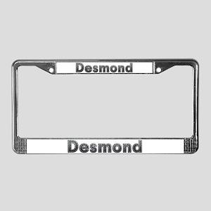 Desmond Metal License Plate Frame