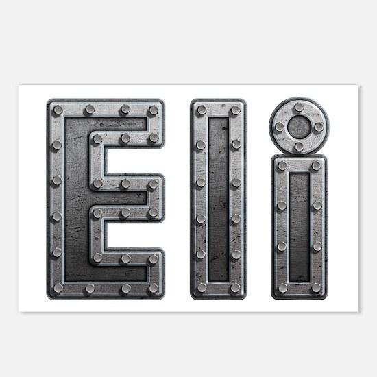 Eli Metal Postcards 8 Pack