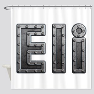 Eli Metal Shower Curtain