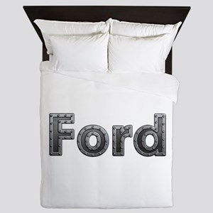 Ford Metal Queen Duvet