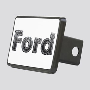 Ford Metal Rectangular Hitch Cover