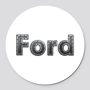 Ford Metal Round Car Magnet