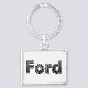 Ford Metal Landscape Keychain