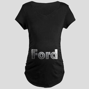 Ford Metal Maternity Dark T-Shirt
