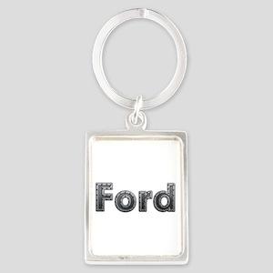 Ford Metal Portrait Keychain